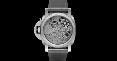 Lo Scienziato Luminor 1950 Tourbillon GMT Titanio