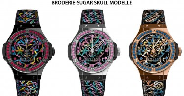 Hublot - Big Bang Broderie Sugar Skull