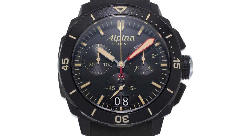 ALPINA_SEASTRONG DIVER CHRONOGRAPH BIG DATE