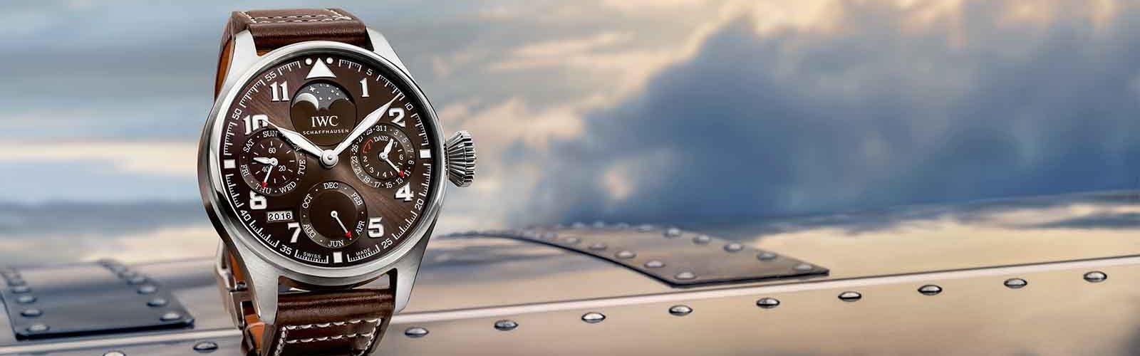 IWC_Big Pilots Watch Perpetual Calendar Antoine de saint exupéry