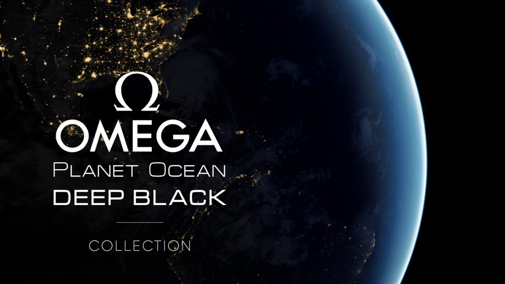 "Omega | Seamaster Planet Ocean ""Deep Black"""