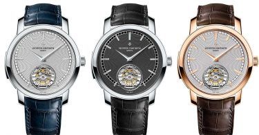 Vacheron Constantin Traditionnelle Répétition Minutes Tourbillon