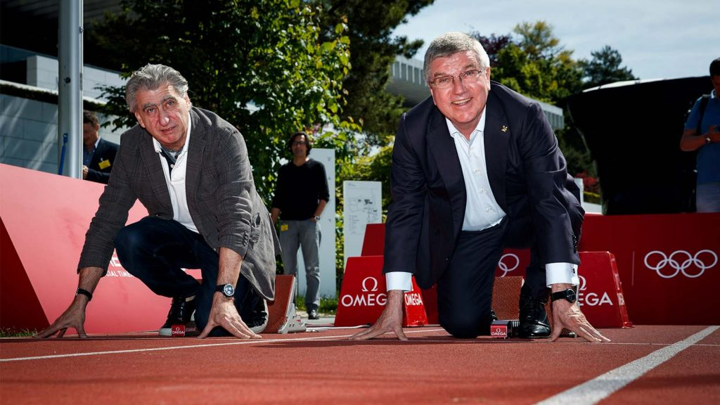 Nick Hayek, Thomas Bach