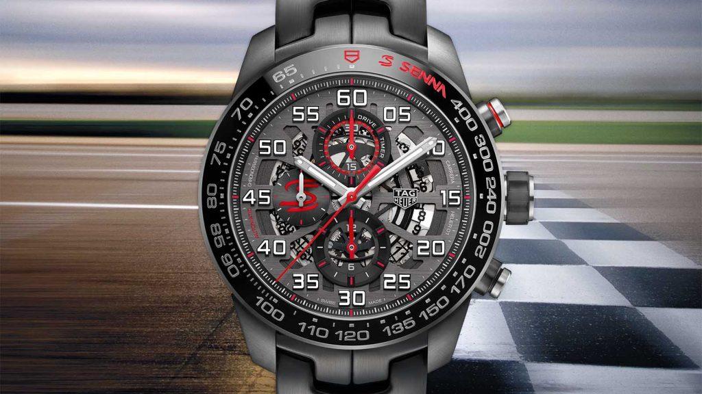 TAG Heuer | Carrera Heuer-01 Chronograph Ayrton Senna Limited Edition