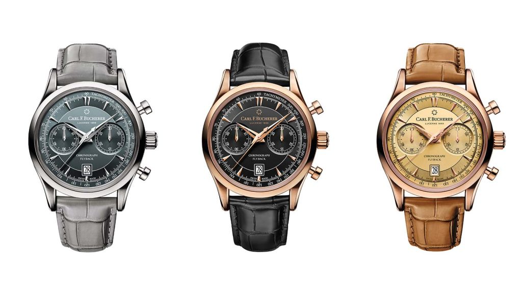 Carl F Bucherer Manero Flyback Chronograph