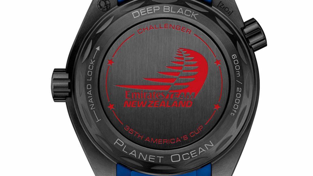 Omega Planet Ocean ETNZ Deep Black
