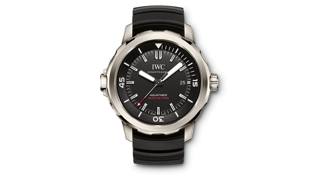 IWC SCHAFFHAUSEN Aquatimer Automatic 2000 Edition 35 YEARS OCEAN 2000