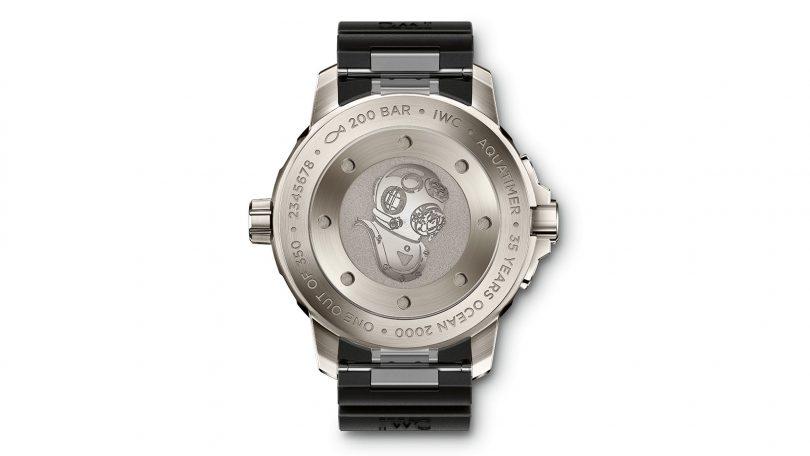 IWC SCHAFFHAUSEN Aquatimer Automatic 2000 Edition 35 YEARS OCEAN 2000