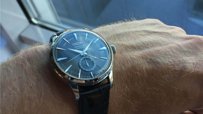 SEIKO Presage Automatik Power Reserve Cocktail