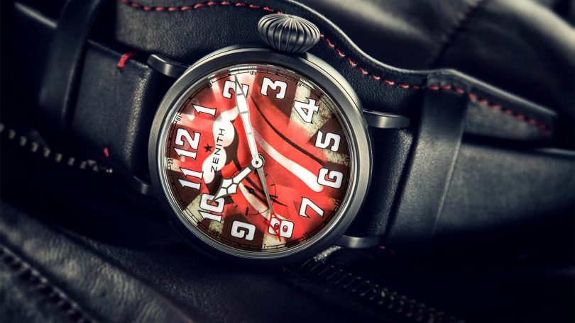 ZENITH Pilot Type 20 GMT Tribute to the Rolling Stones