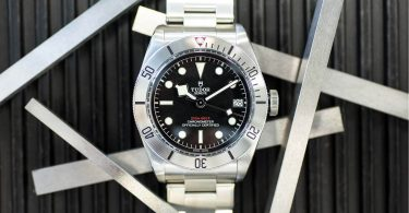 TUDOR Heritag Black Bay Steel