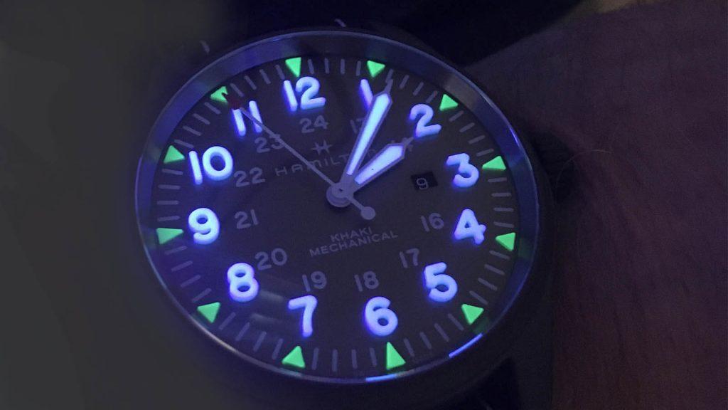 HAMILTON Khaki Pilot Day Date