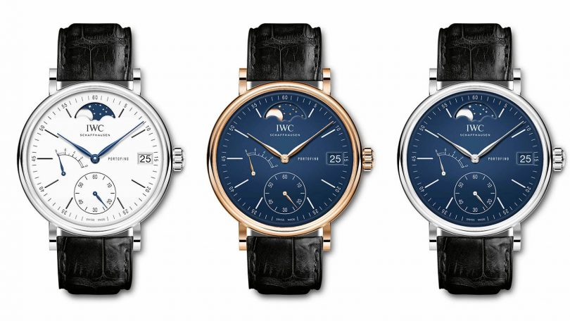 IWC SCHAFFHAUSEN PORTOFINO HAND-WOUND MOON PHASE EDITION «150 YEARS»_1.1