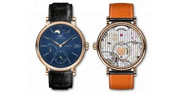 IWC SCHAFFHAUSEN PORTOFINO HAND-WOUND MOON PHASE EDITION «150 YEARS»_2.1