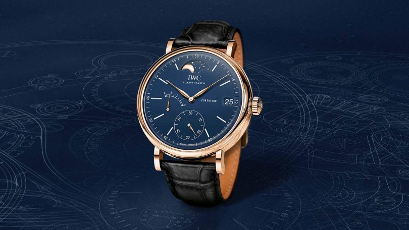 IWC SCHAFFHAUSEN PORTOFINO HAND-WOUND MOON PHASE EDITION «150 YEARS»_3.1