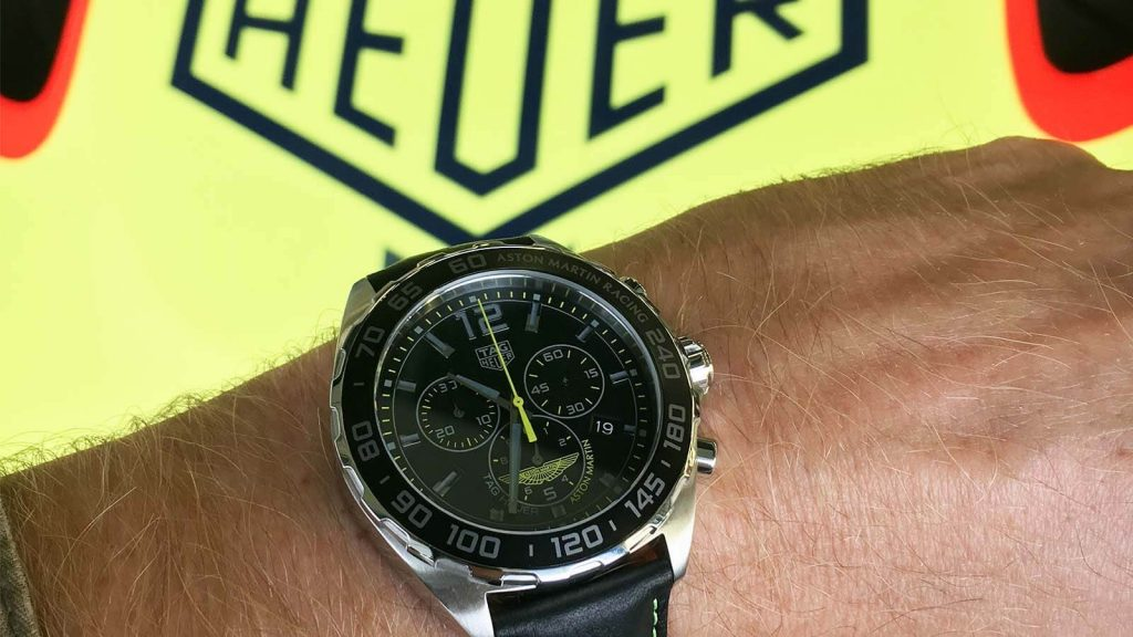 TAG HEUER Formula 1 Special Edition Aston Martin Racing_1