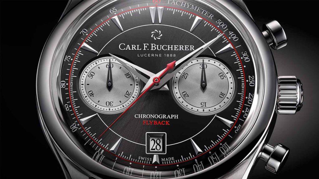 CARL F BUCHERER-Manero-Flyback-Retro-1