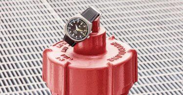Taucheruhr von Rado mit einem Gehäuse aus Edelstahl und 47mm Gehäusedurchmesser