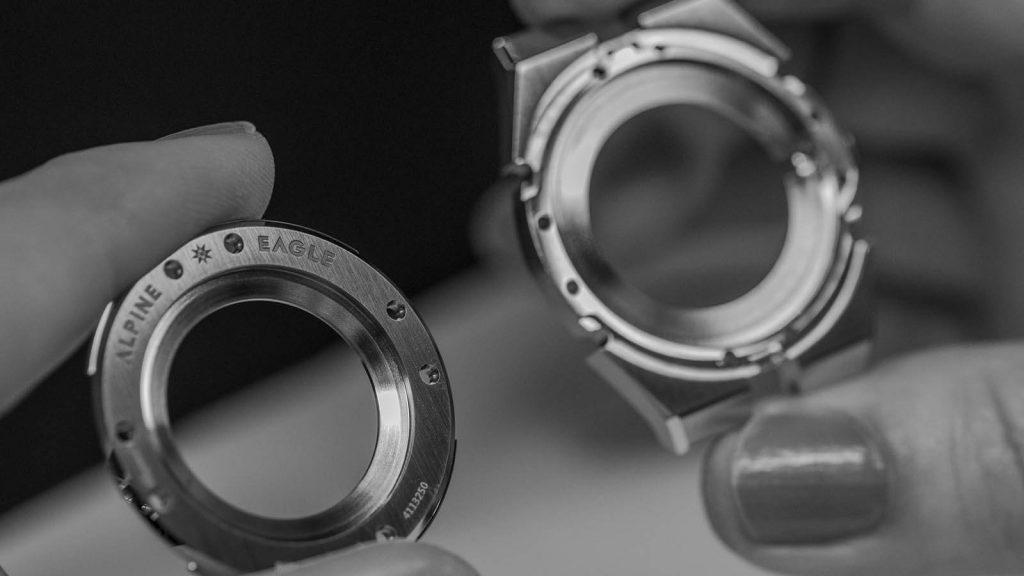 Gehäuse der exklusiven Uhr von Chopard