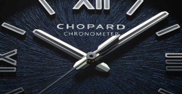 Details vom Zifferblatt der neuen Alpine Eagle von Chopard