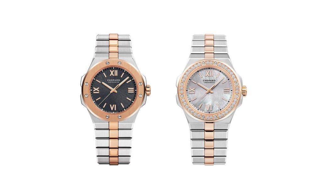Zwei Bicolor Damen Uhren der Marke Choard