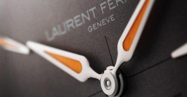 Details der Zeiger bei der Tourbillon Grand Sport von Laurent Ferrier