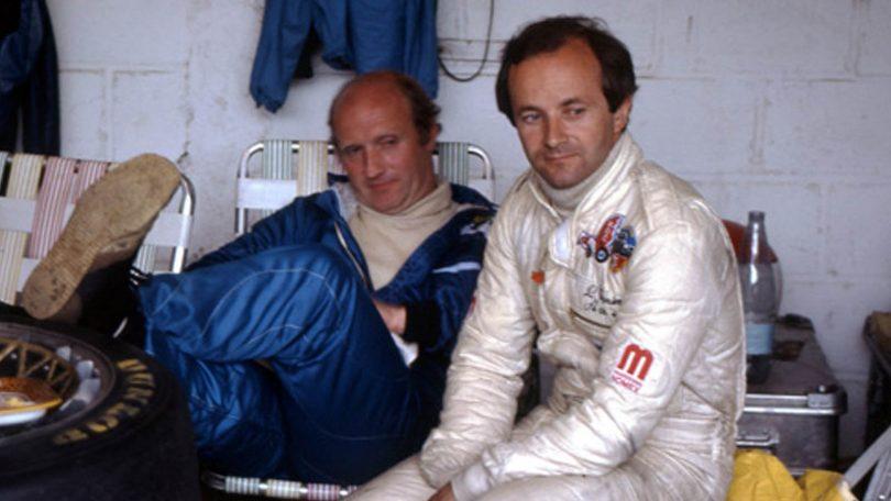 v.l.n.r.: François Servanin und Laurent Ferrier