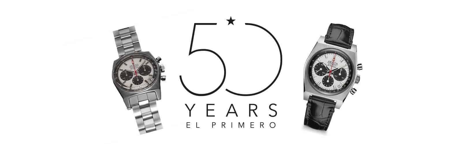 Header für den Initial-Beitrag zu 50 Jahre el Primero