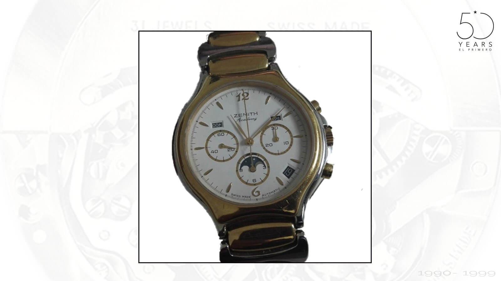 Zenith Academy Chronograph von 1990 mit El Primero Werk